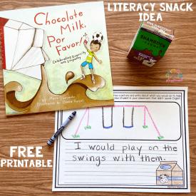 Literacy Snack Idea Empathy