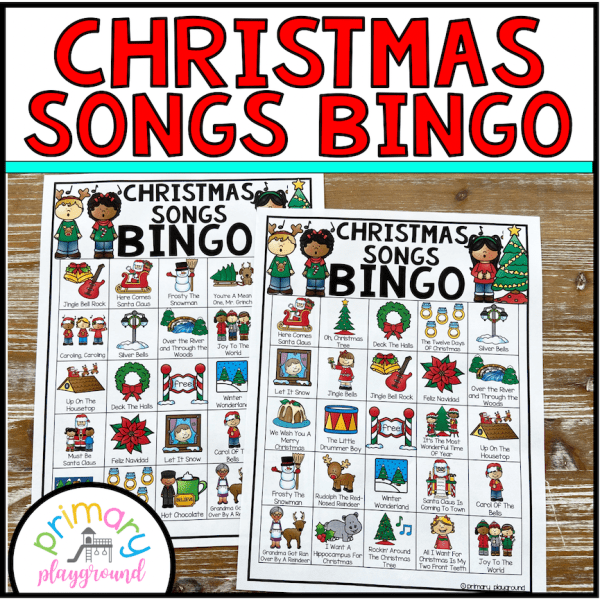 Christmas Songs Bingo