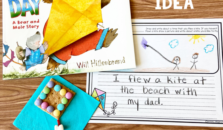 Literacy Snack Kite Read-Aloud