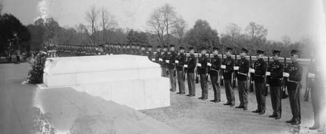 Tomb Of The Unknown Soldier, 1922