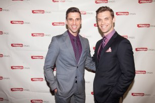 Josh Prince and Michael Novak. Primary Stages 30th Anniversary Gala 2014 ©Hechler Photographers