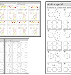 Addition symbol (within 10)   Worksheets – Primary Stars Education [ 720 x 1280 Pixel ]