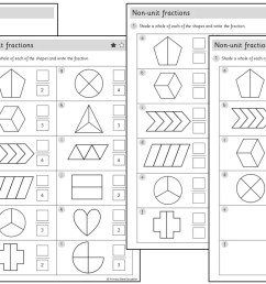 Non-unit fractions   Worksheets – Primary Stars Education [ 720 x 1280 Pixel ]