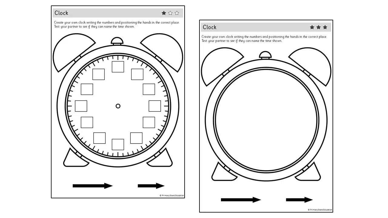 Create a clock   Practical