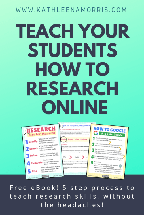 small resolution of How to Teach Online Research Skills to Students   5 Steps for Teaching  Students How to Search and Filter Information