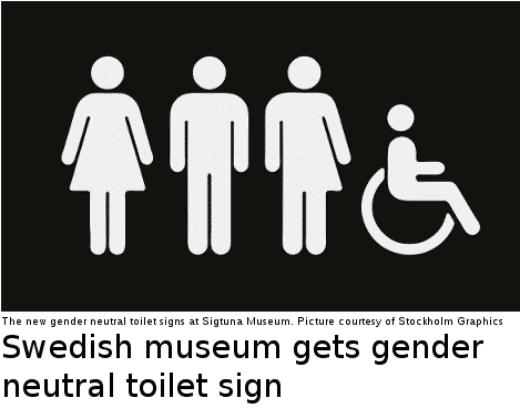 gender neutral toiletsign (thelocal.se)
