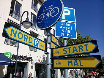 Eine Stadt im Fahrradfieber