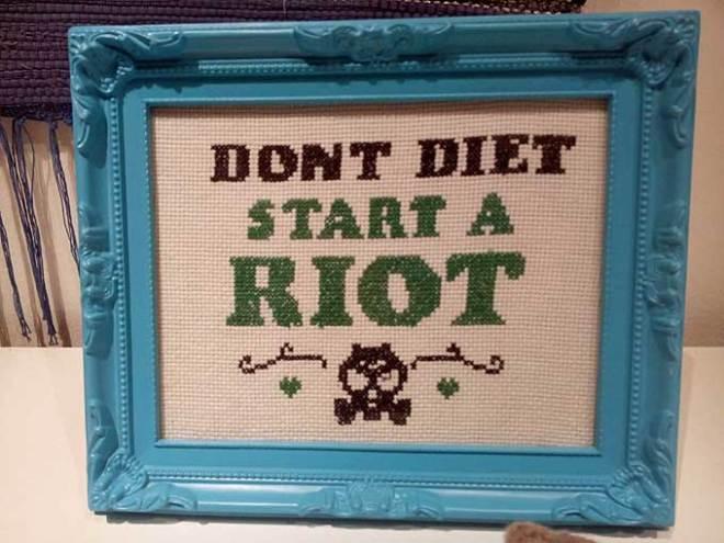dont diet start a riot