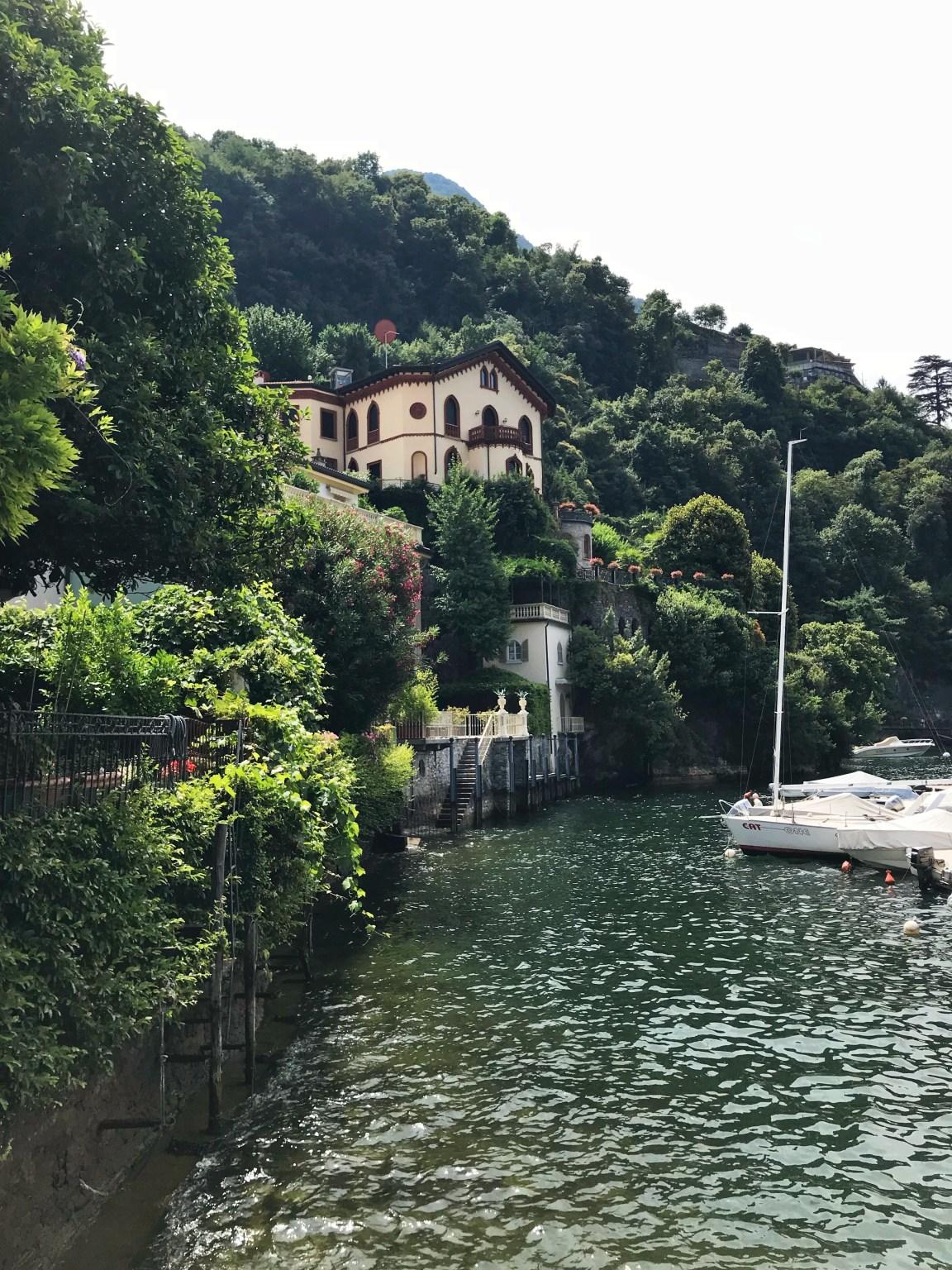 På utflykt runt Comosjön