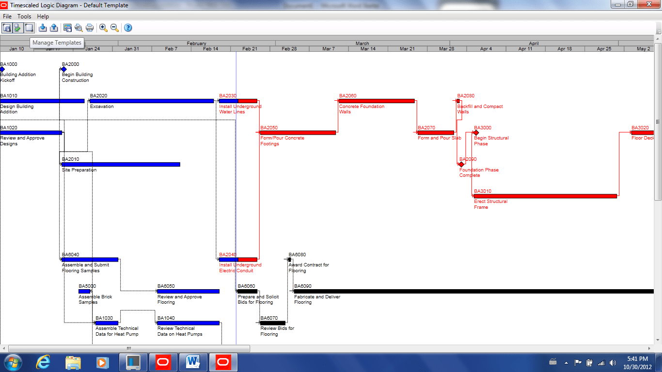 hight resolution of step 4 select edit template to customize the appearance of the tsld and open the timescaled logic diagram options dialog box