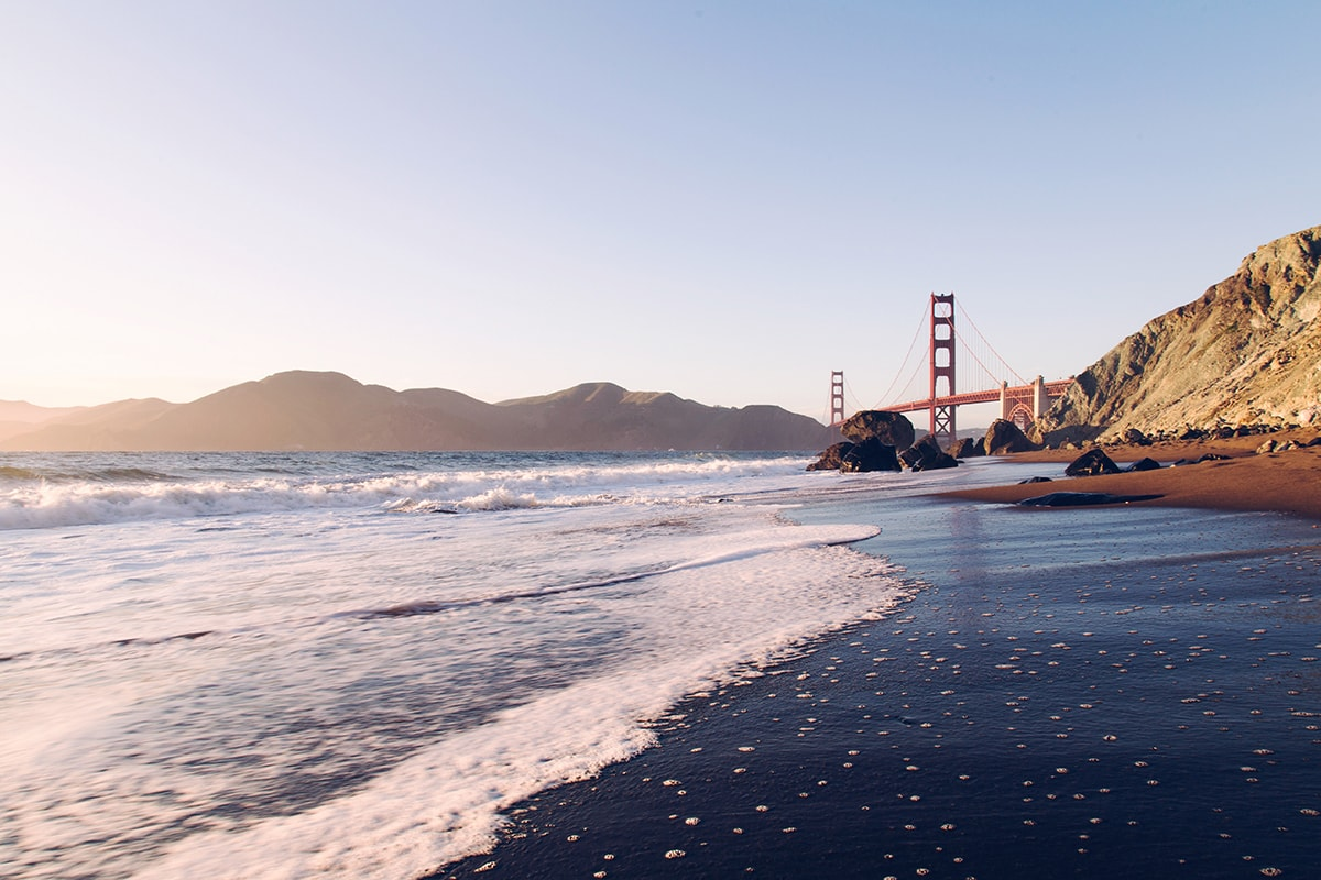 Golden Gate Bridge, San Francisco, California Pacific Coast Highway