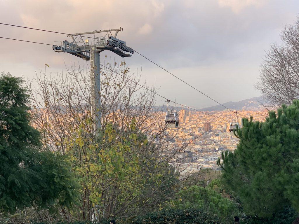 Funicular to Casatell de Montjuic