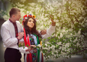 Wedding with Ukrainian woman