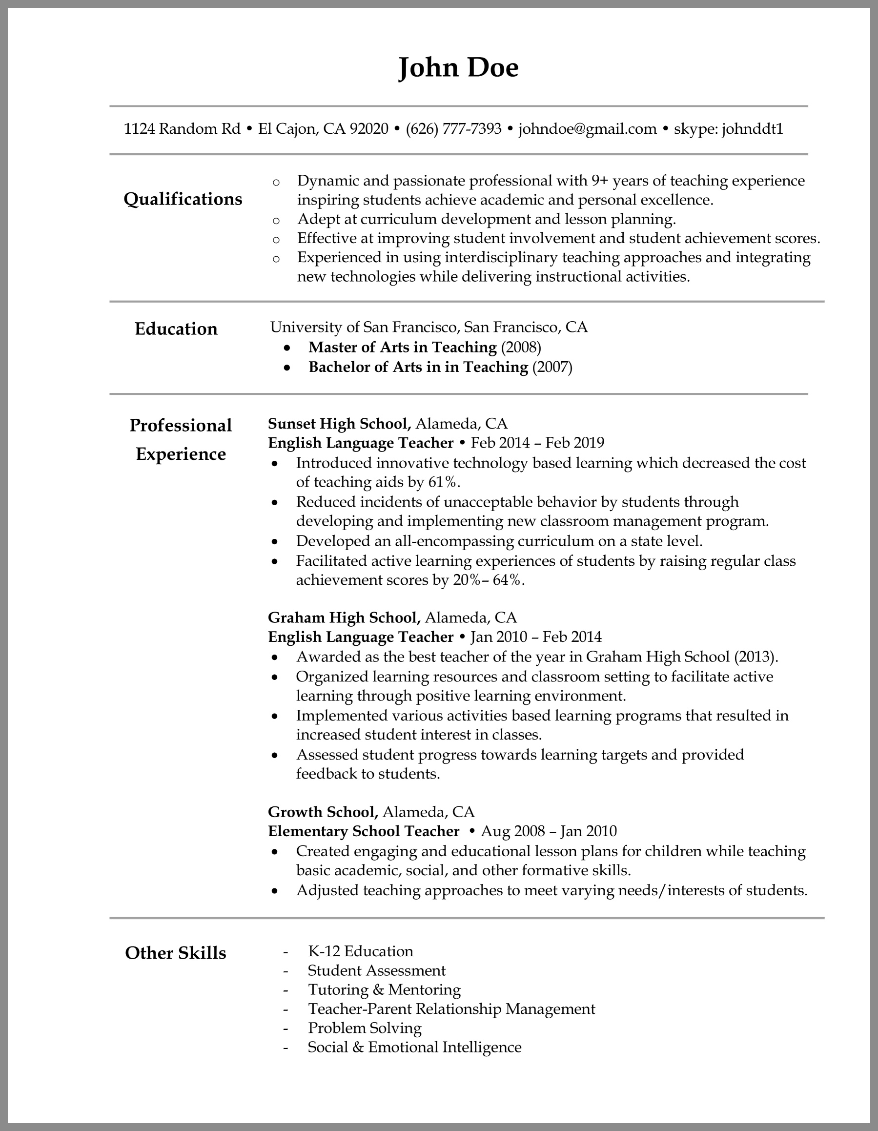 Esol Tutor Cover Letter | Friday Update 10 13 14 In The Weeks Ahead ...