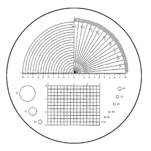 Buy Fowler 52-661-003-0, 10X Pocket Optical Comparator