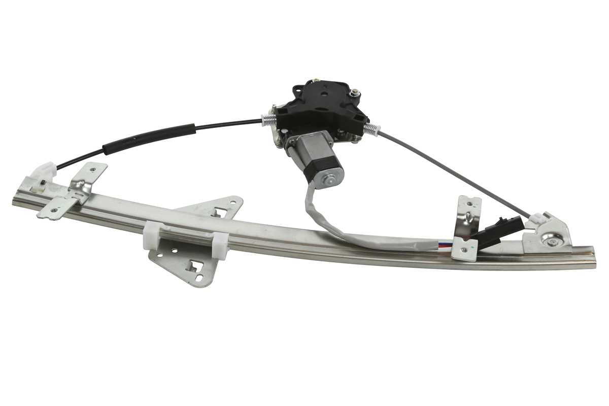 Rear Right Side Power Window Regulator W Motor Fits 98 04