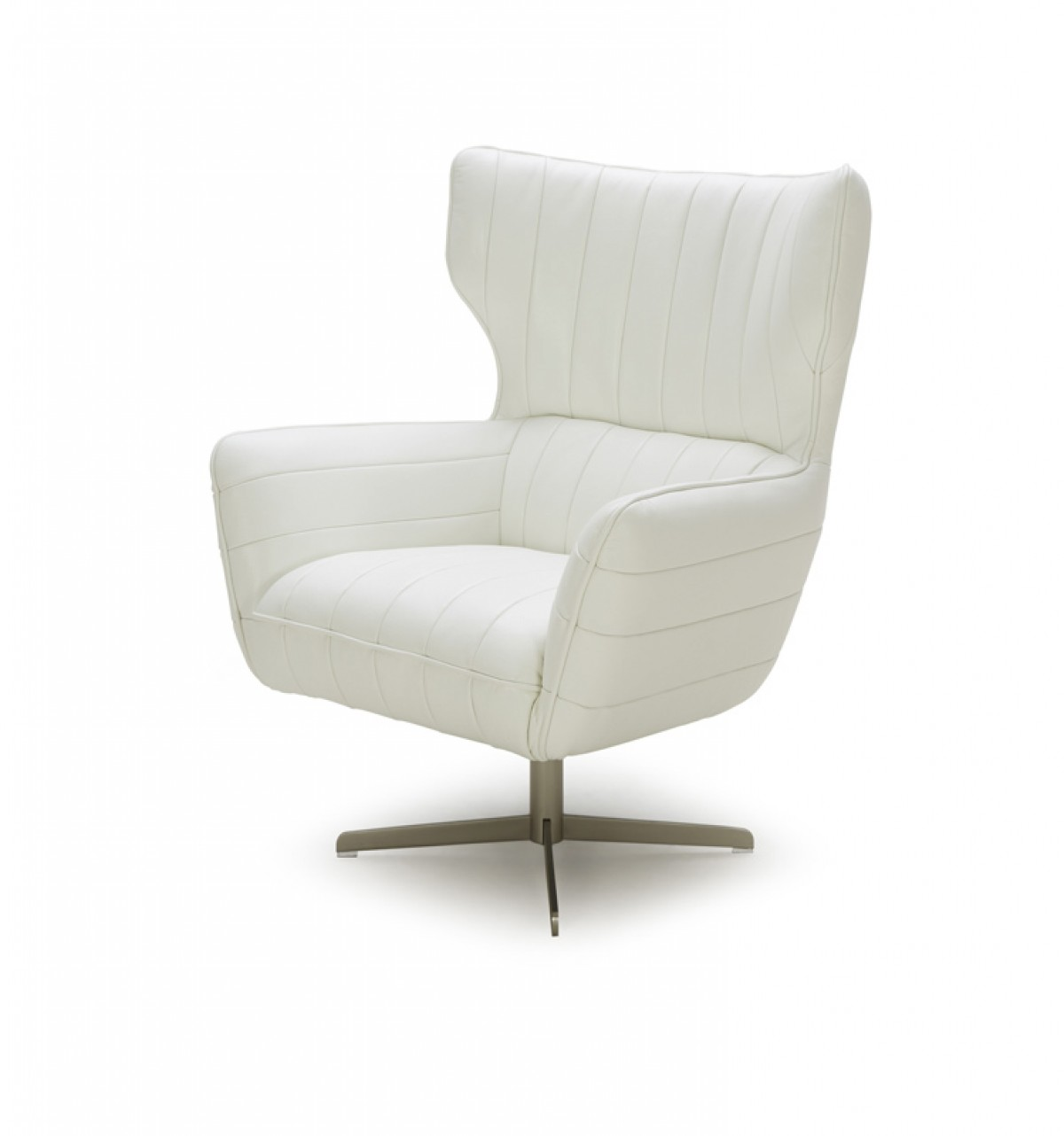 White Leather Swivel Chair White Leather Swivel Accent Chair Charlotte North Carolina