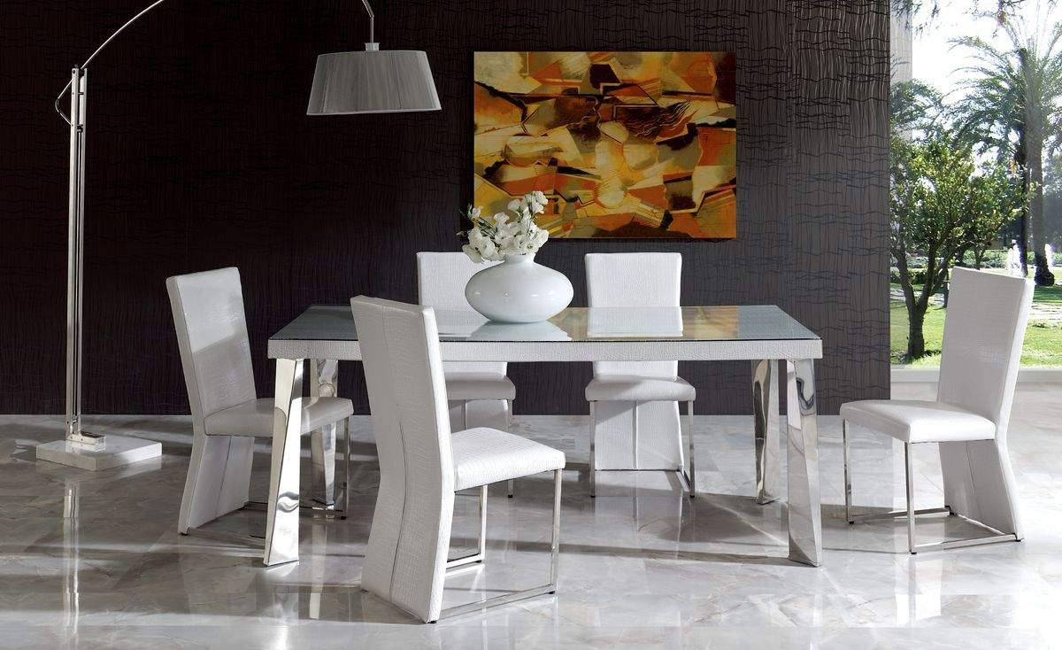 Table And Chairs Sets. Italian Dining Furniture. Luxury