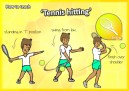 tennis hit kids teach sport pe school