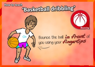 basketball sport pe kids lessons teaching how to