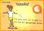 balancing skills gymnastics kids