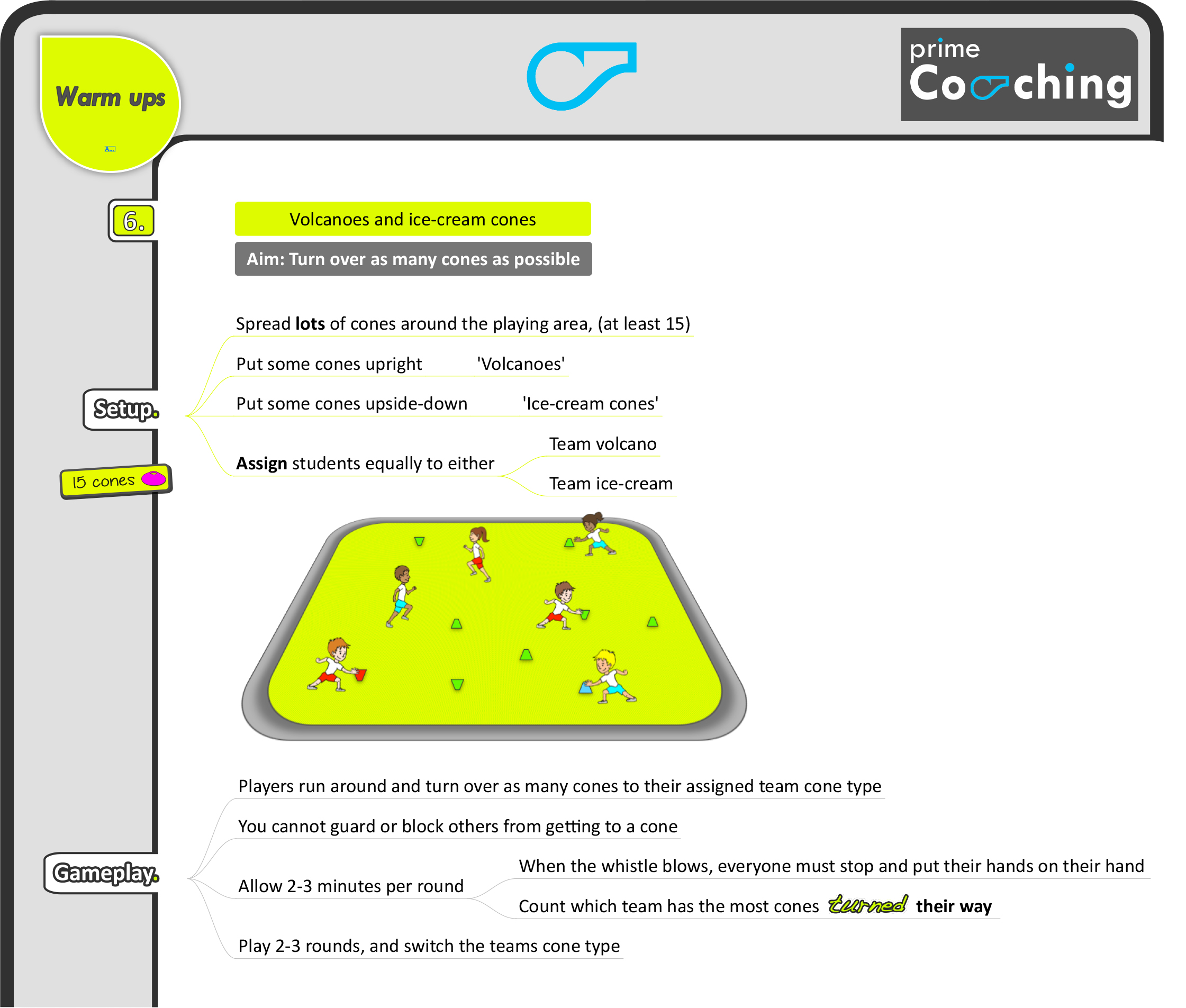 8 Great Pe Warm Up Games Prime Coaching Sport