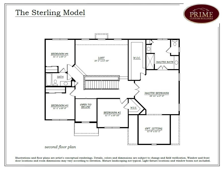 The Sterling Floor Plans In New Houses Available In Warwick PA