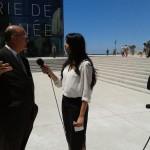 Rémy Pflimlin interviewé par les journalistes du PriMed INFO