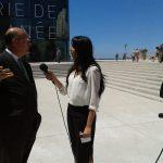 Remy Pflimlin interviewé par les journalistes du PriMed INFO