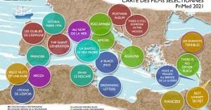 Carte géographique des films