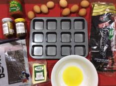 Korean Primed Muffins - Ingredients