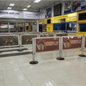Airport Static – Immigration Counters