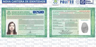 Mato Grosso começa a emitir nova carteira de identidade