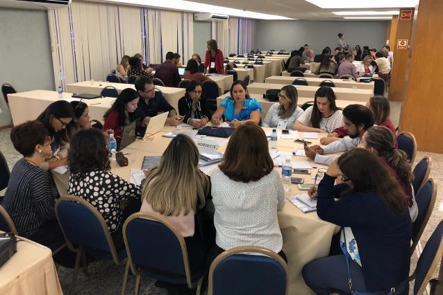 SES integra oficina nacional de planejamento de ações de educação na área da saúde