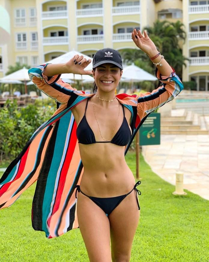 Miss Brasil Julia Horta mostra corpão de biquíni