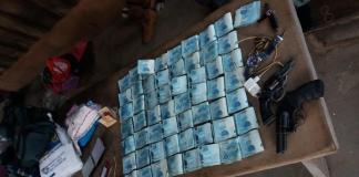 PM identifica assaltantes e recupera R$ 59 mil de roubo em agência bancária de Juara