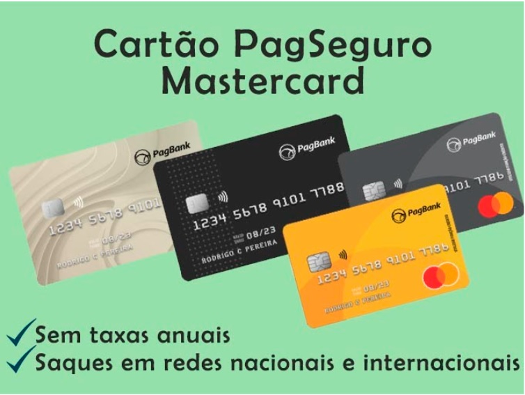 Cartão Pré-pago Mastercard PagSeguro