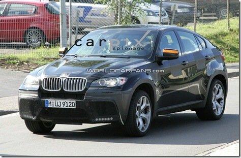 FOTOS ESPIA-BMW X6 5.0iS