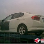 HONDA CITY FLAGRADO NA CHINA