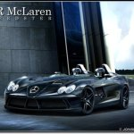 RENDERING DO SLR SPEEDSTER REVELA O SUPERCARRO