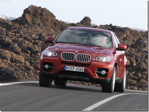 BMW DIVULGA PREÇOS DO X6 NO BRASIL