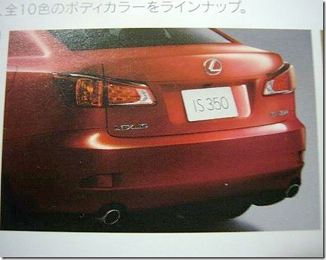 LEXUS IS REESTILIZADO