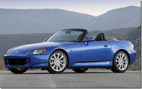 Honda confirma que deixará de produzir o S2000 em 2009