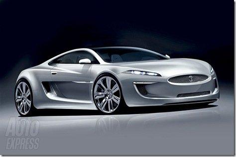 Projeção antecipa linhas do novo superesportivo da Jaguar