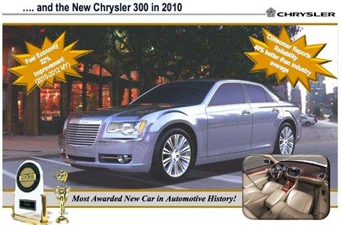 Chrysler divulga imagens do 300C e do Cherokee reestilizados