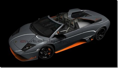 Imagem filtrada revela a Lamborghini LP560-4 roadster