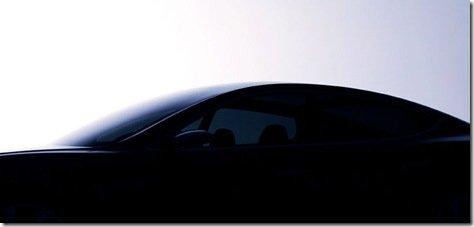 Tesla revela teaser do Model S