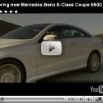 Vídeo-Mercedes Classe E coupé