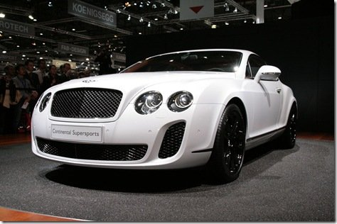 Direto de Genebra-Bentley Continental Supersports