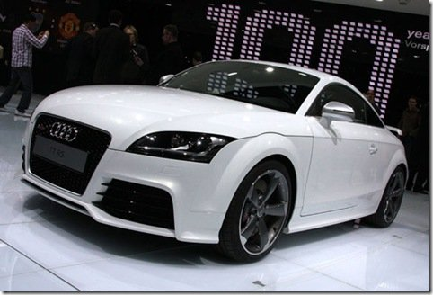 Direto de Genebra- Audi TT-RS